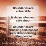 Boundaries, Vulnerability and Identity