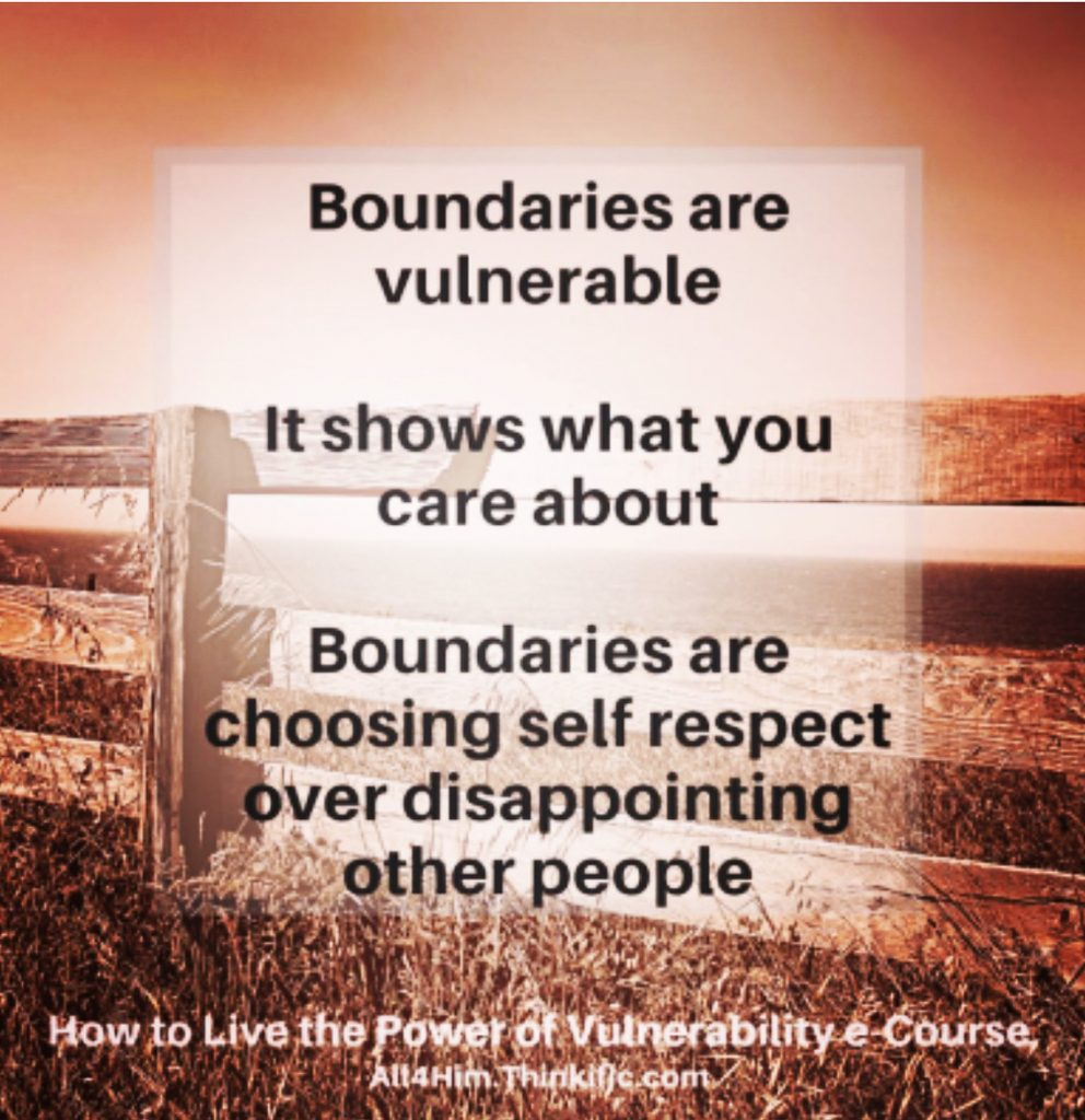 Boundaries, Vulnerability and Identity