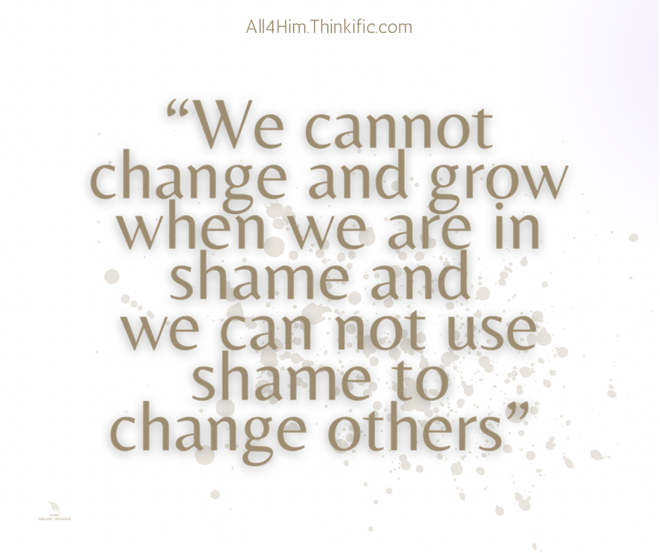 Using Shame to Change Others